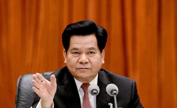 """李纪恒""""一肩挑""""任民政部党组书记和部长"""