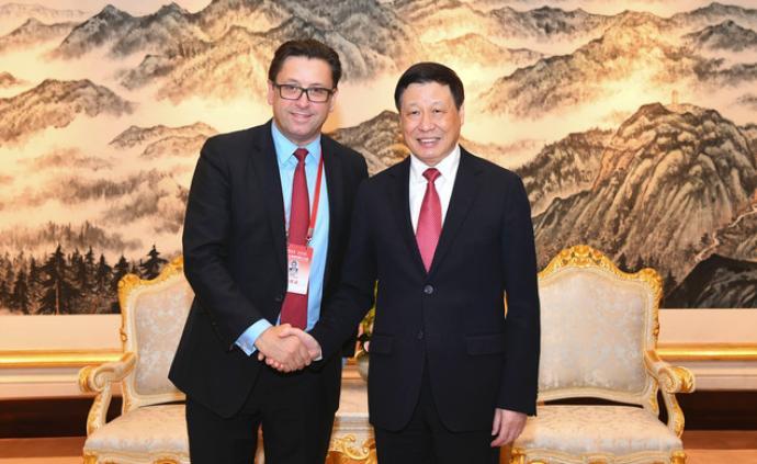 这家世界500强药企亚洲总部和研发总部落户上海,应勇会见