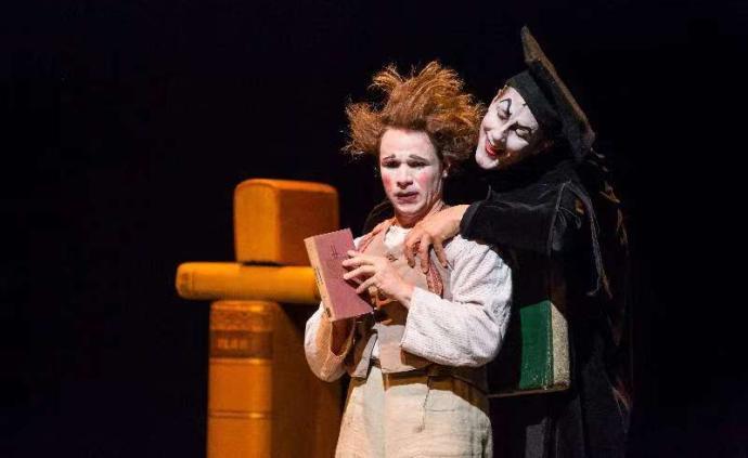 上海國際藝術節 德國默劇《浮士德》,無臺詞演繹歌德巨著