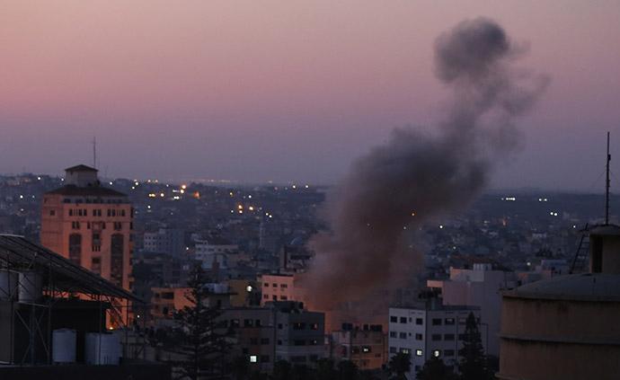 以色列军方暗杀杰哈德高官,加沙发射火箭弹报复