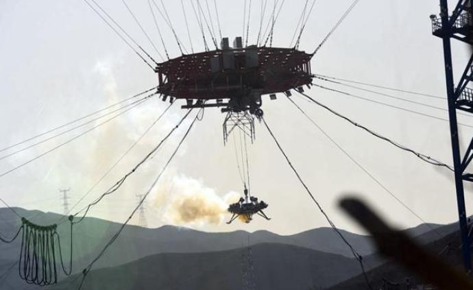 中國完成首次火星探測任務著陸器懸停避障試驗