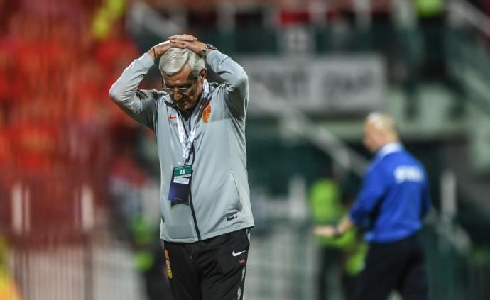 中国足协接受里皮辞职请求,将重组男足国家队