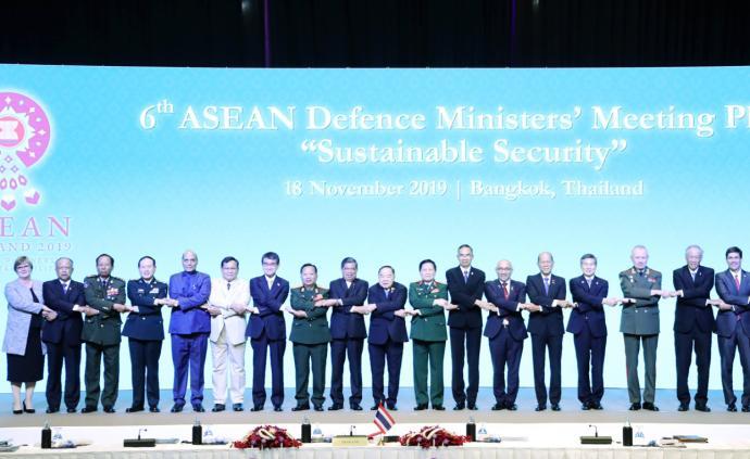 第六屆東盟防長擴大會在泰國曼谷舉行