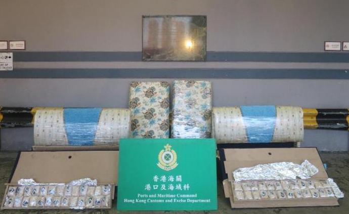 香港海關破獲首宗懷疑苯甲錫林毒品案,市值超2億港元
