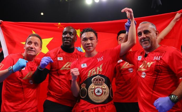 """25歲世界拳王開啟自己的傳奇,""""怪物""""徐燦拳力進化中"""