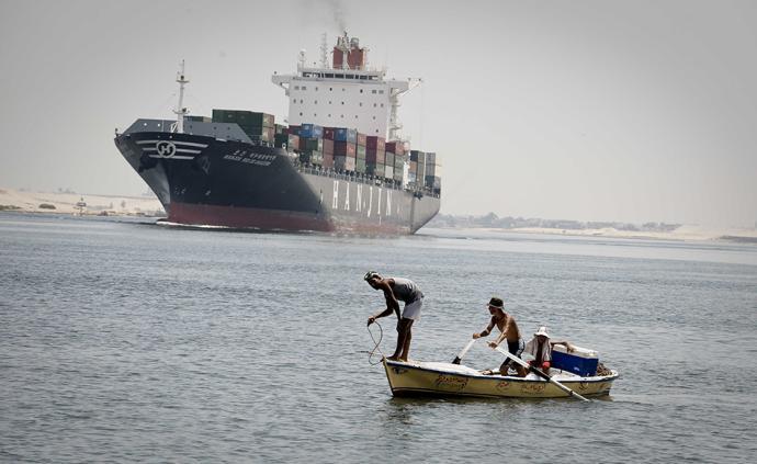 早安·世界|埃及蘇伊士運河通航150周年