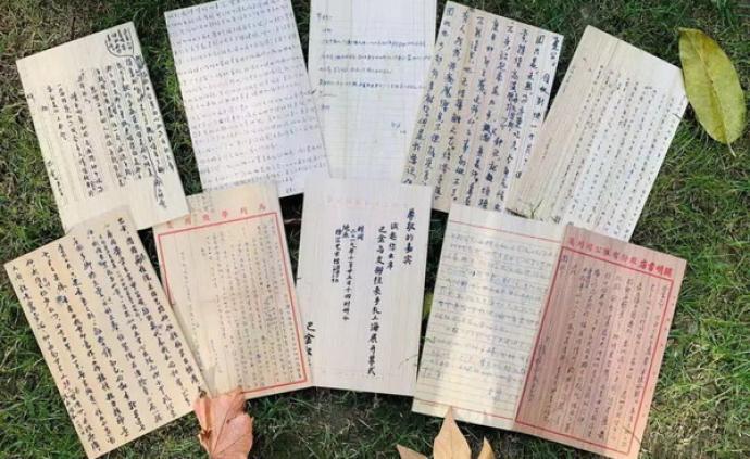 """紀念巴金誕辰115周年,""""溫暖的友情""""手札展上海開幕"""