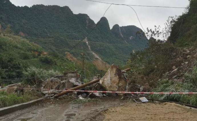 廣西大新縣附近發生5.2級地震,已致1人死亡5人受傷