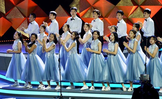 上海合唱節展演,近6000人放聲歌唱禮贊新中國