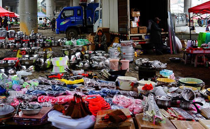 """中消协:农村集贸市场""""三无""""产品有增无减,应完善追责机制"""
