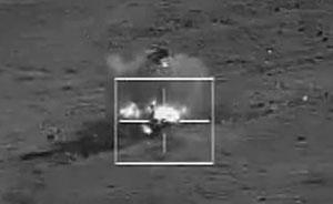 中国侦察打击一体无人机首次参加上合组织联合反恐军演