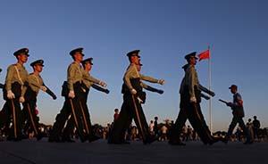中国最高规格纪念抗战胜利69周年:七常委出席敬献花篮仪式