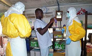 视频:实拍埃博拉患者逃出隔离区寻找食物被抓回