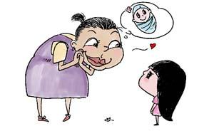 【问答】孕妇多看漂亮宝宝,生的孩子就漂亮?