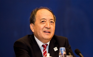 肖天当选国际篮联副主席,受访时称利于中国三大球振兴