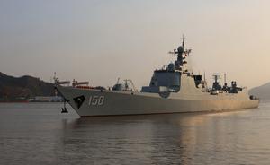 中国海军舰艇编队首访伊朗,两国官兵将开展足球友谊赛
