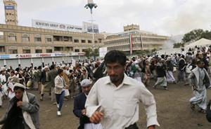 也门遭受多起基地组织自杀式爆炸袭击,已致约70人死亡
