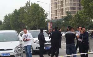 """郑州街头""""警匪大战"""",毒贩疯狂撞开6车逃逸遭鸣枪示警"""