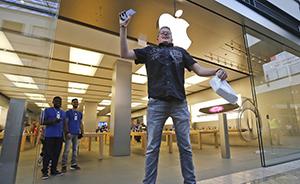 苹果将发布创纪录年报:营收1800亿美元