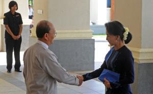史无前例,缅总统共邀昂山素季与军队领导商讨明年大选