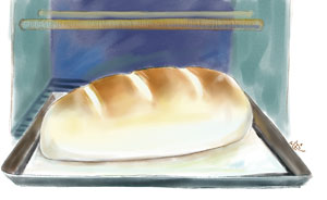 【问答】刚烤完的面包不能吃?
