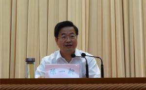 温州市委书记陈一新任浙江省委常委,跻身副部级官员序列