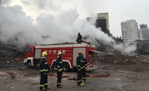 三天了,哈尔滨大火仍有余火,专家称相连两建筑保留价值不大