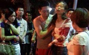 深圳地铁站附近一男子砍人后劫持人质被制服