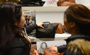 中国人春节出境游有钱任性:有人一天在巴黎商场消费40万