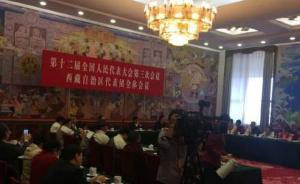 西藏人大常委会主任:十四世达赖有关转世言论是亵渎藏传佛教
