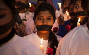 印度女高官:强奸在全球都发生,为何却在印度成为焦点