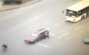 沪交警被宝马车拖行致死:妻子将临盆,肇事者系网络公司老板