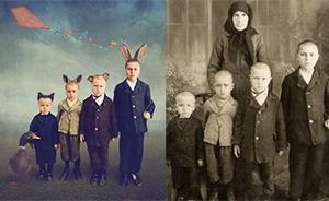 读图|如何利用黑白老照片制作超现实主义风格的彩照
