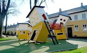 这些才是真正给小盆友玩的游乐场!15个全世界最酷儿童乐园