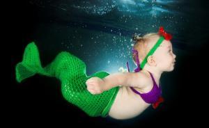 读图|水中婴儿写真,你敢带宝宝去拍么?