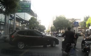澎湃直击|上海早高峰行车1小时,记录仪录下9次交通违法