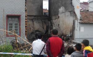 上海5天内两起液化气钢瓶爆炸致民宅坍塌事件,一对父子身亡