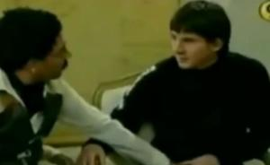 """视频里,19岁的梅西真被蜀黍们的""""咸猪手""""吓坏了"""