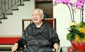 97岁浙江省政协原主席捐130万治理故乡河流