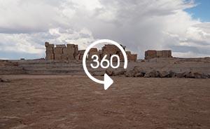 360°全景| 新疆野生动物保护区成采石场,动物难觅踪迹