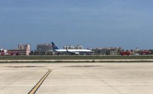南航一架客机空中突遇火警:机长淡定播报,成功备降