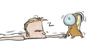 【答网友问】被闹钟吵醒真的易患病?