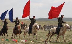 """中国将首次派出作战部队参演美蒙""""可汗探索""""军演"""
