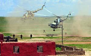 """俄称上合组织""""和平使命""""军演8月在中国举行"""