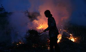 PM2.5溯源?秸秆焚烧致长三角空气质量明显下降