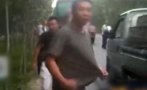 卡车司机违章辱骂交警,亲戚大喊:我儿子是国防生,怕你啥?