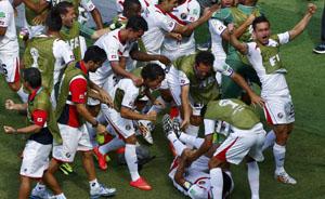 """20年""""全民免费足球计划""""催生黑马哥斯达黎加"""