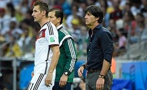 克洛泽是德国的充电宝,梅西是阿根廷的唯一电源