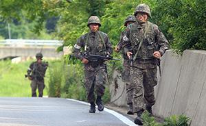 韩国枪击案肇事士兵被捕,自杀未遂已被送医