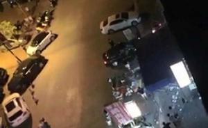 广东现实版古惑仔大战:男子遭群殴后街头飞车撞人